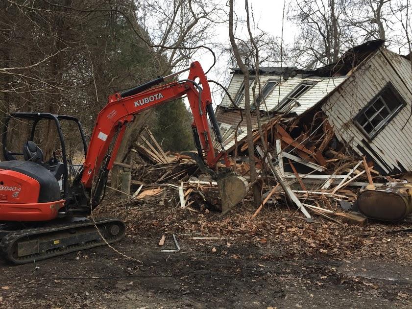 maryland house demolition