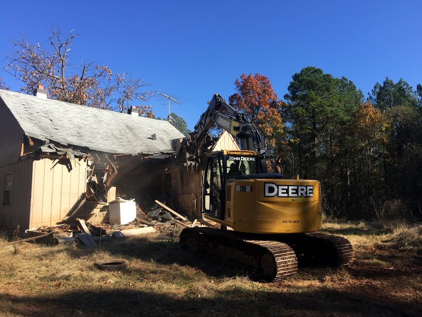 old house demo 6