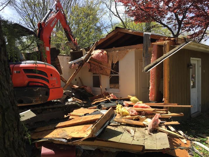 virginia house demolition