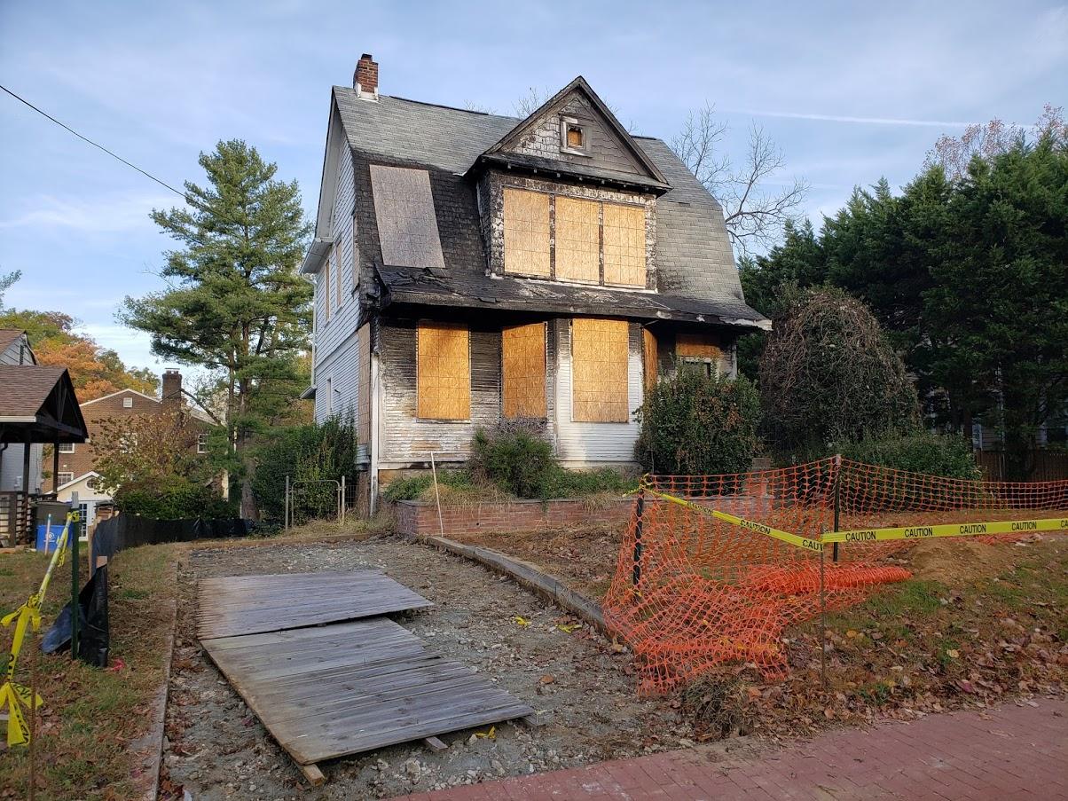 montgomery county demolition